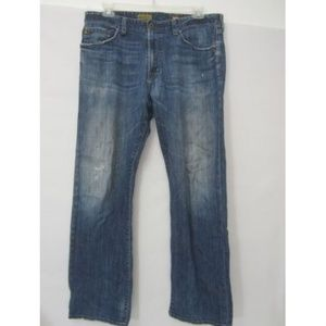 AG The Hero Jeans Straight Destroyed Distressed